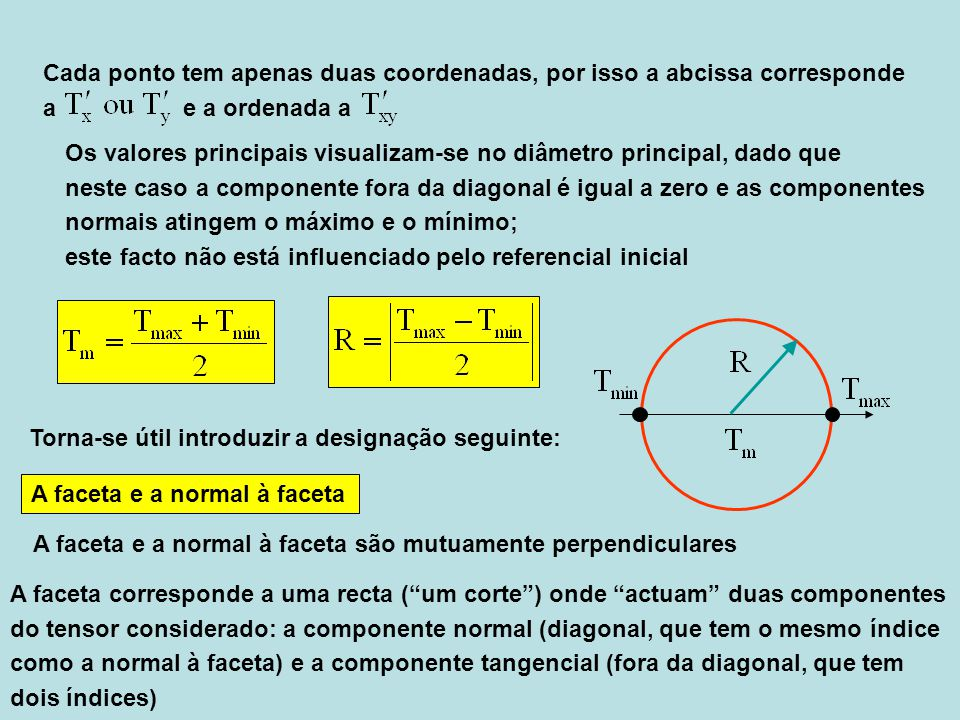 Cada ponto tem apenas duas coordenadas, por isso a abcissa corresponde