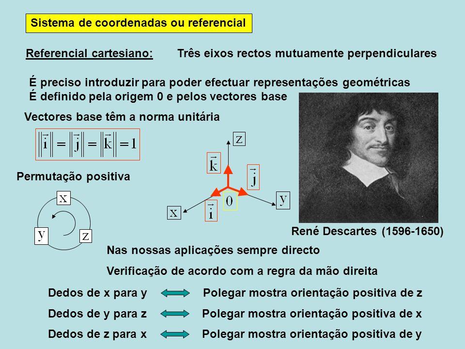 Sistema de coordenadas ou referencial