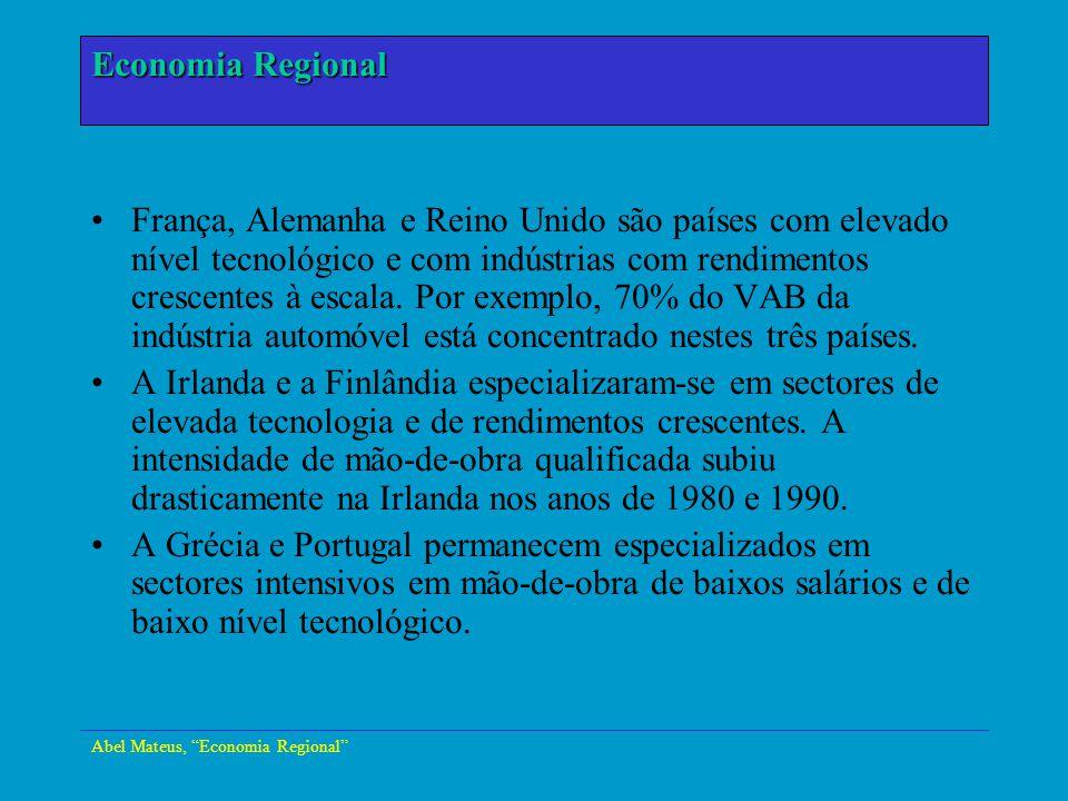 Economia Regional Economia Urbana