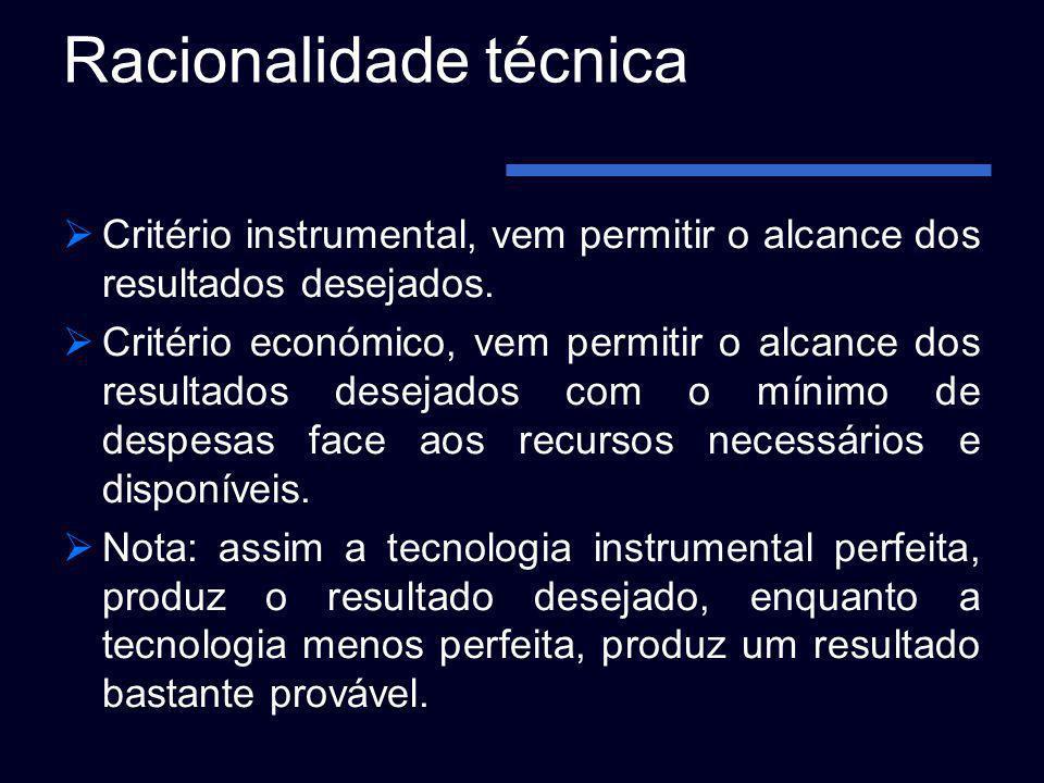 Racionalidade técnica