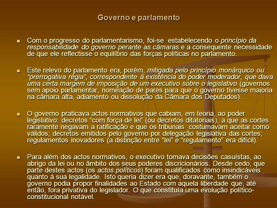 Governo e parlamento