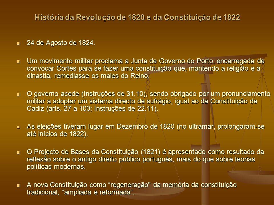 História da Revolução de 1820 e da Constituição de 1822