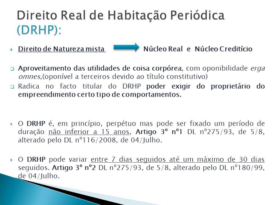 Direito Real de Habitação Periódica (DRHP):