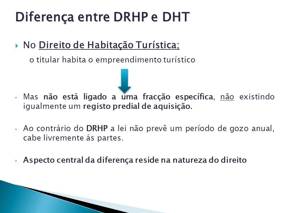 Diferença entre DRHP e DHT
