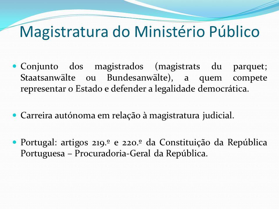 Magistratura do Ministério Público