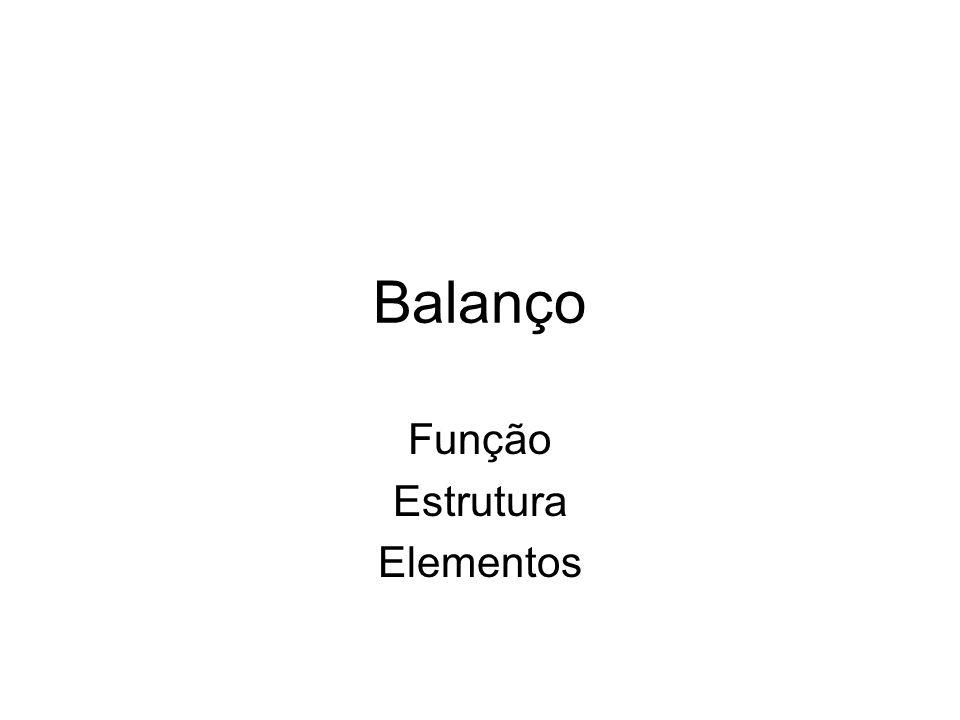 Função Estrutura Elementos