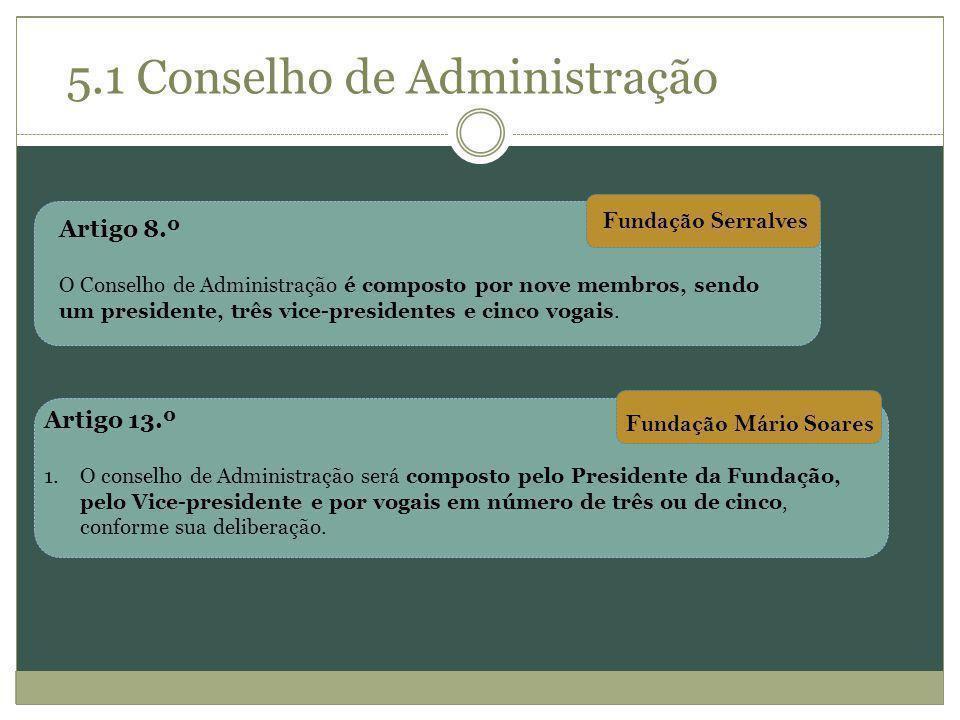 5.1 Conselho de Administração