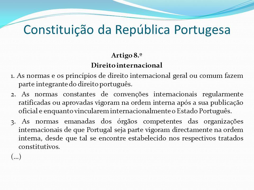 Constituição da República Portugesa