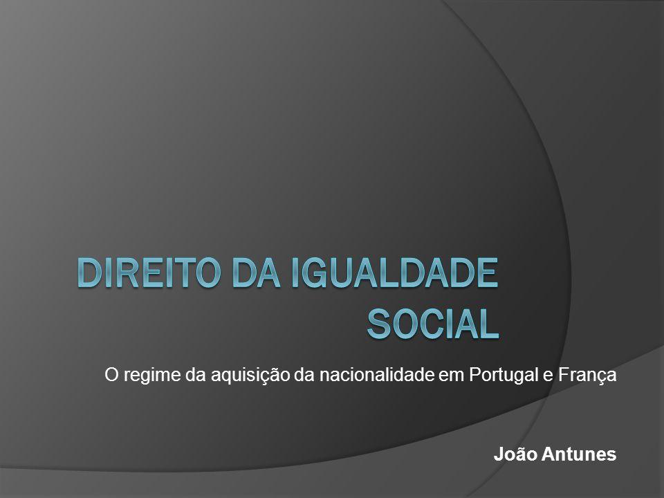 Direito da Igualdade social