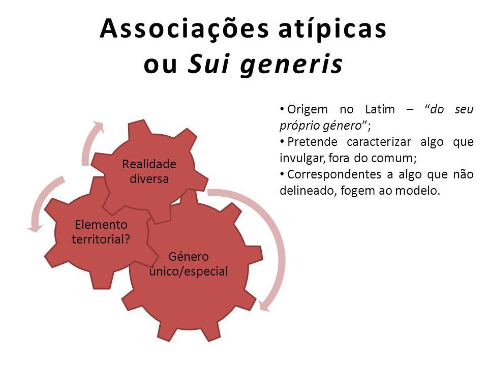 Associações atípicas ou Sui generis