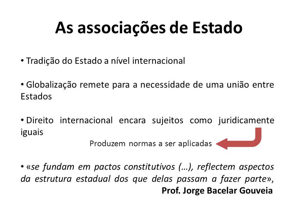 As associações de Estado