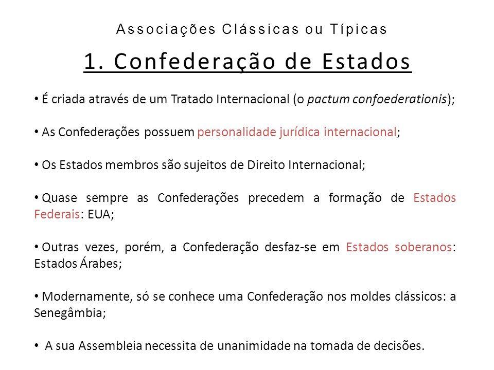 1. Confederação de Estados