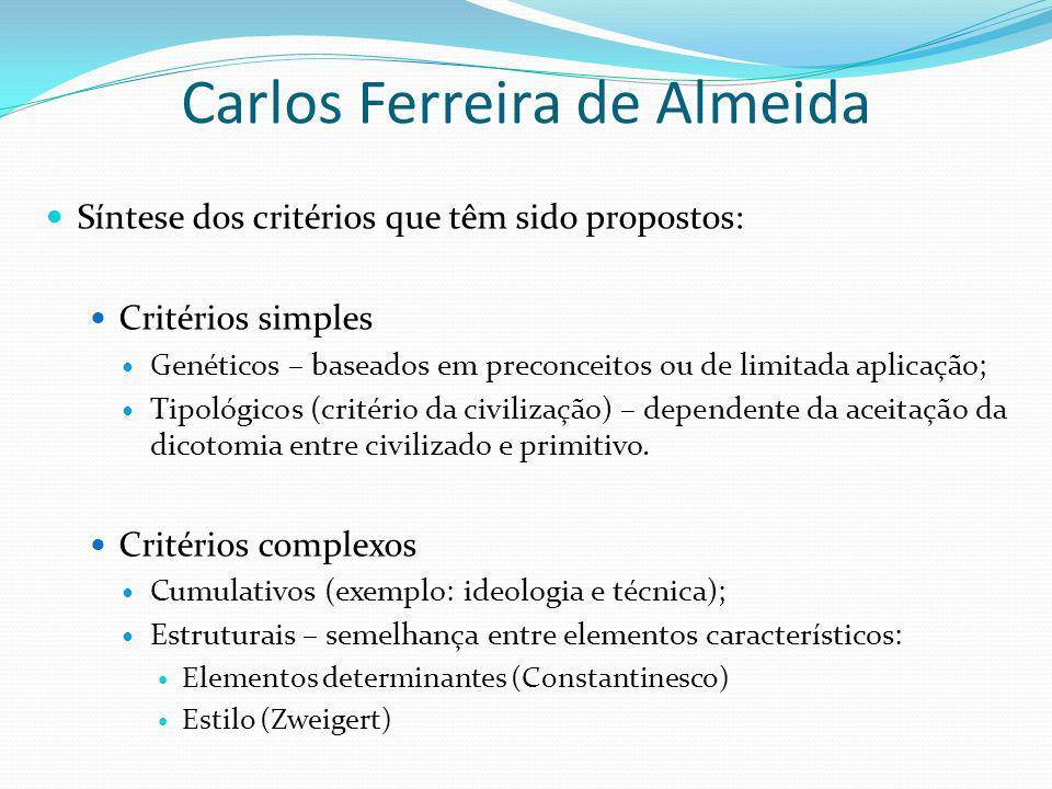 Carlos Ferreira de Almeida