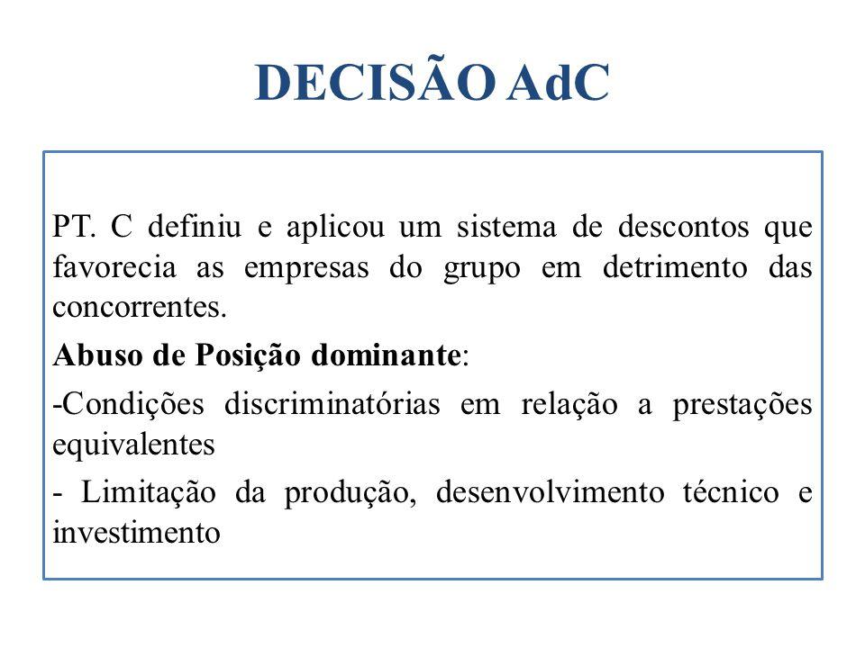 DECISÃO AdC