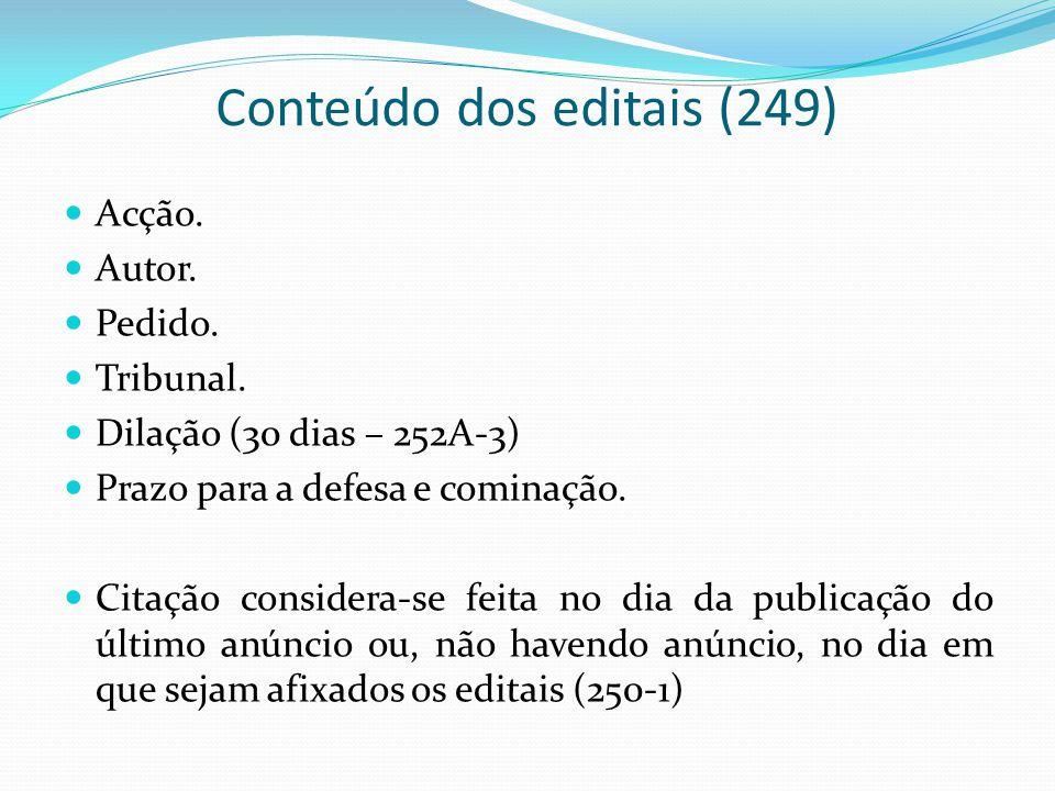 Conteúdo dos editais (249)