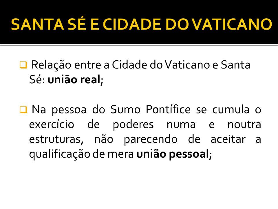 SANTA SÉ E CIDADE DO VATICANO