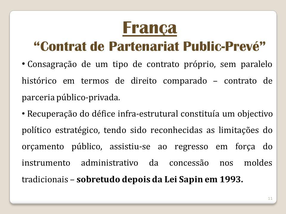 Contrat de Partenariat Public-Prevé