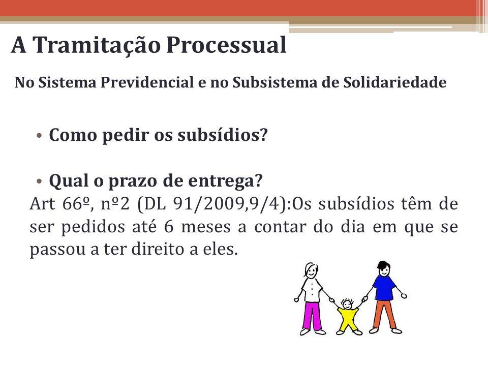 A Tramitação Processual
