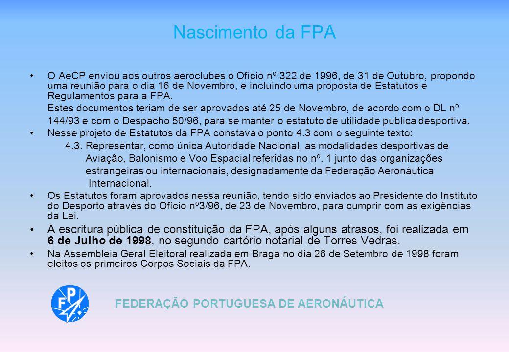 Nascimento da FPA