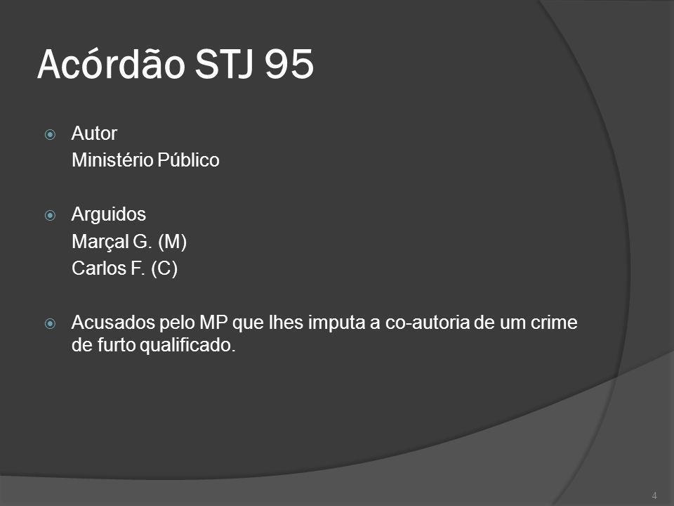 Acórdão STJ 95 Autor Ministério Público Arguidos Marçal G. (M)