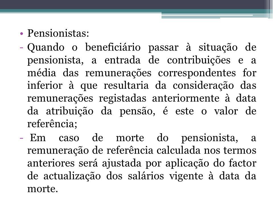 Pensionistas:
