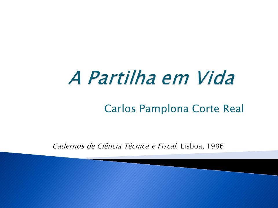 Carlos Pamplona Corte Real