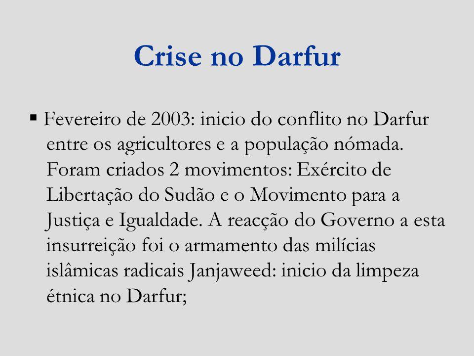 Crise no Darfur