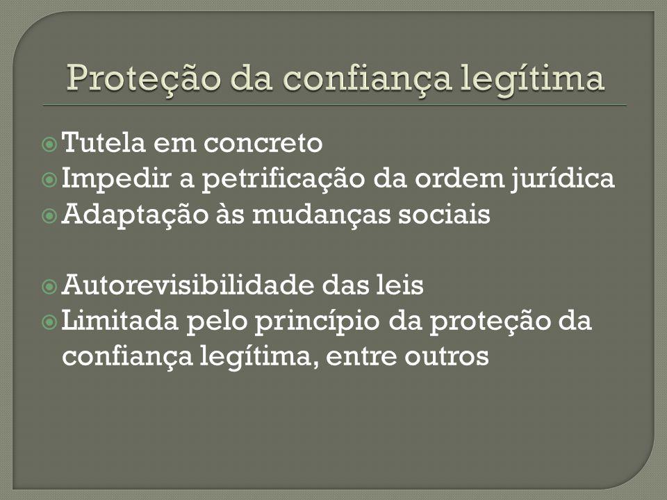 Proteção da confiança legítima