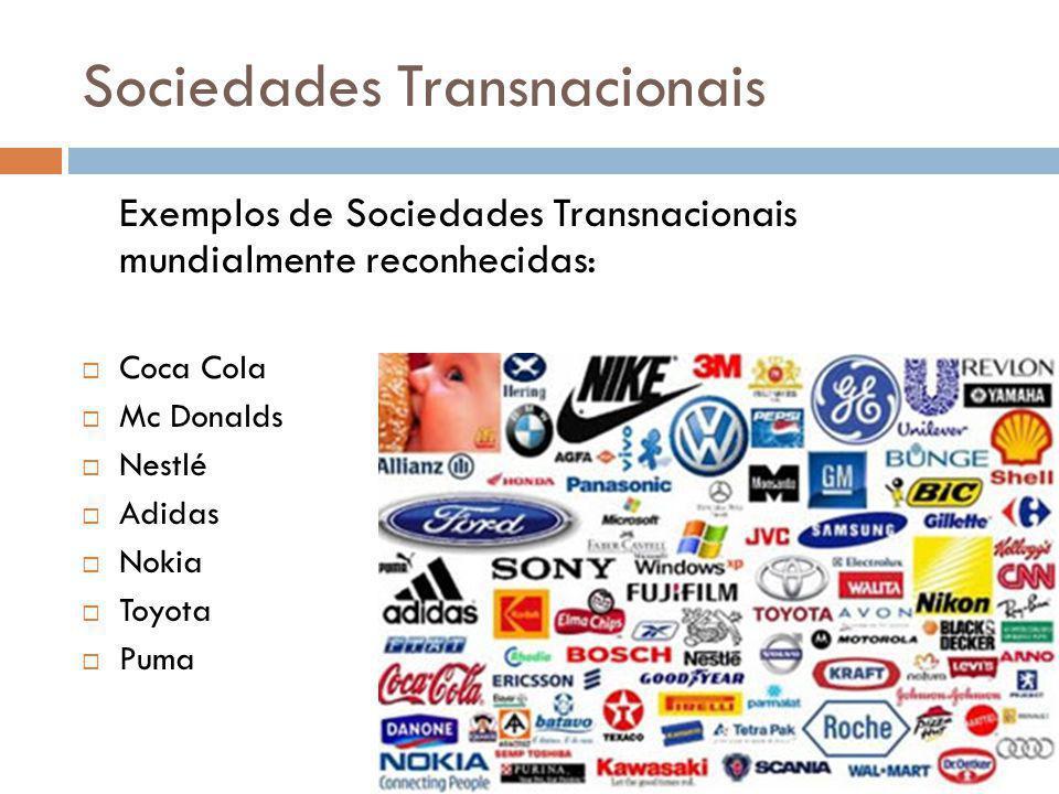 Sociedades Transnacionais