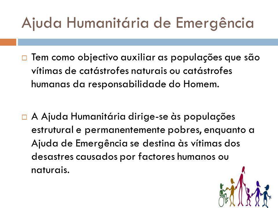 Ajuda Humanitária de Emergência