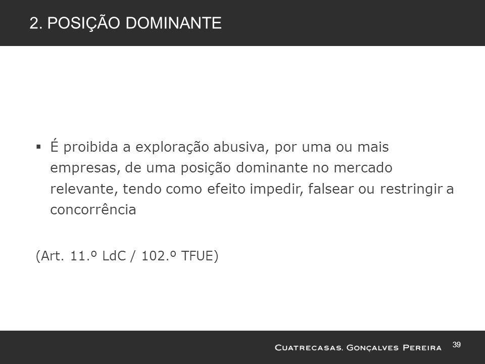 2. Posição dominante