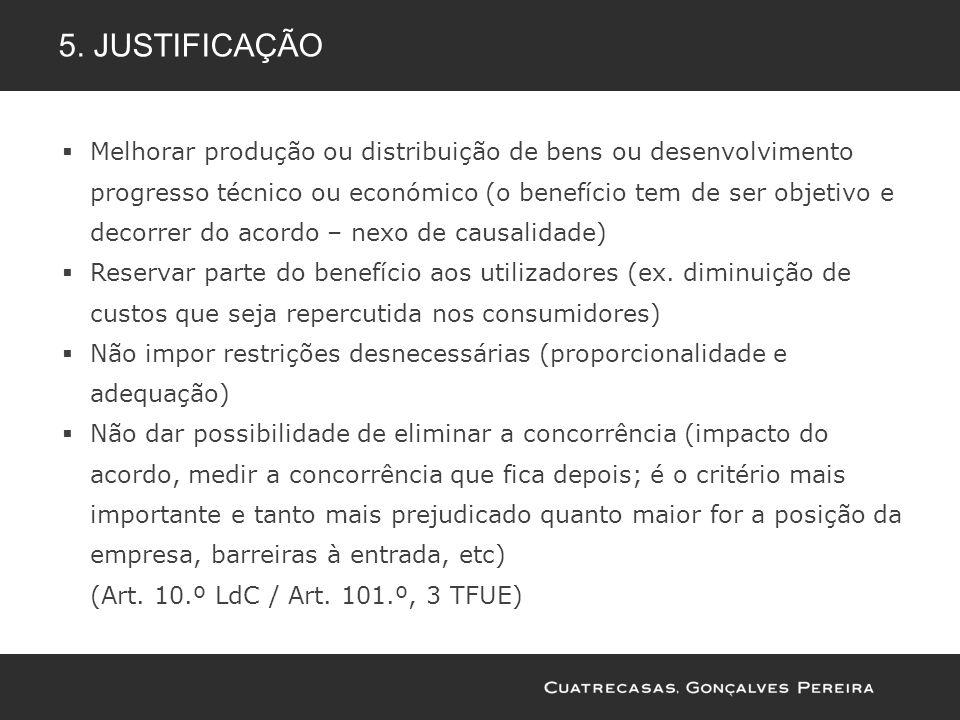 5. Justificação
