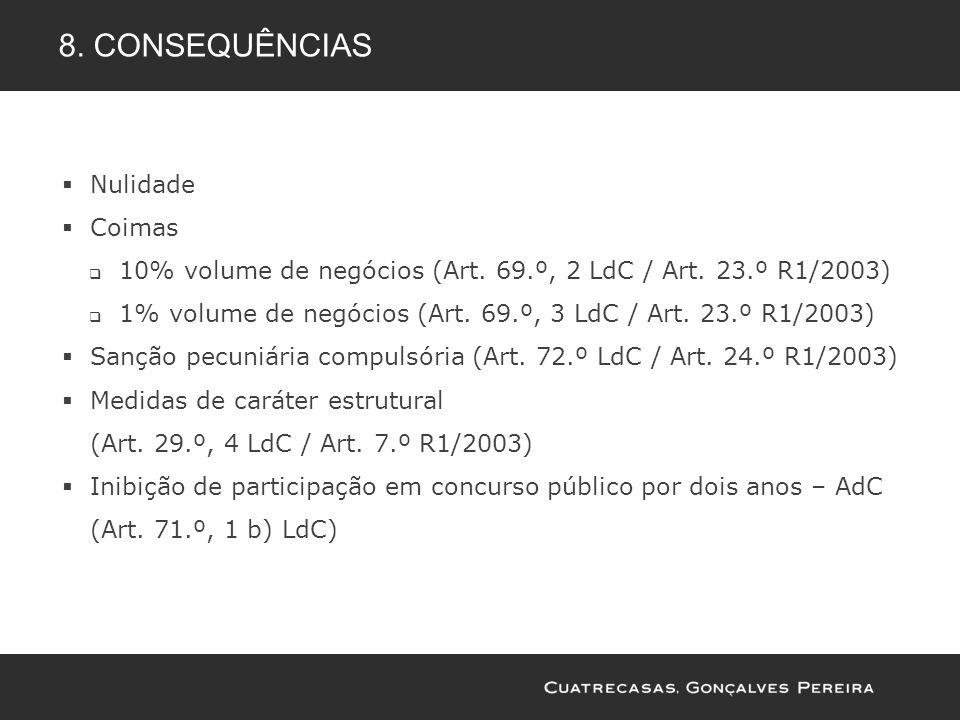 8. consequências Nulidade Coimas