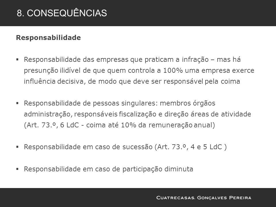 8. consequências Responsabilidade