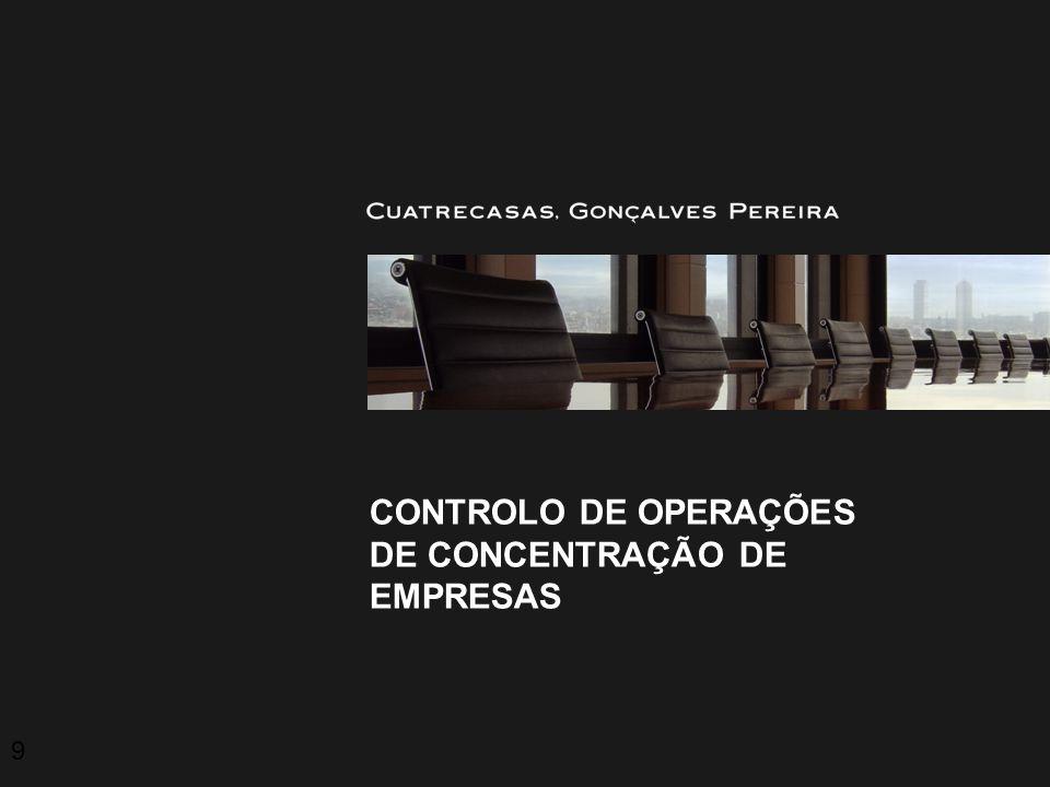 Controlo de operações de concentração de empresas