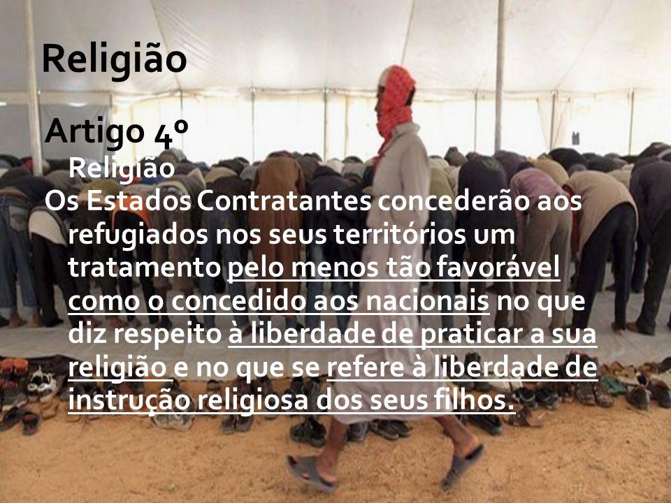 Religião Artigo 4º Religião