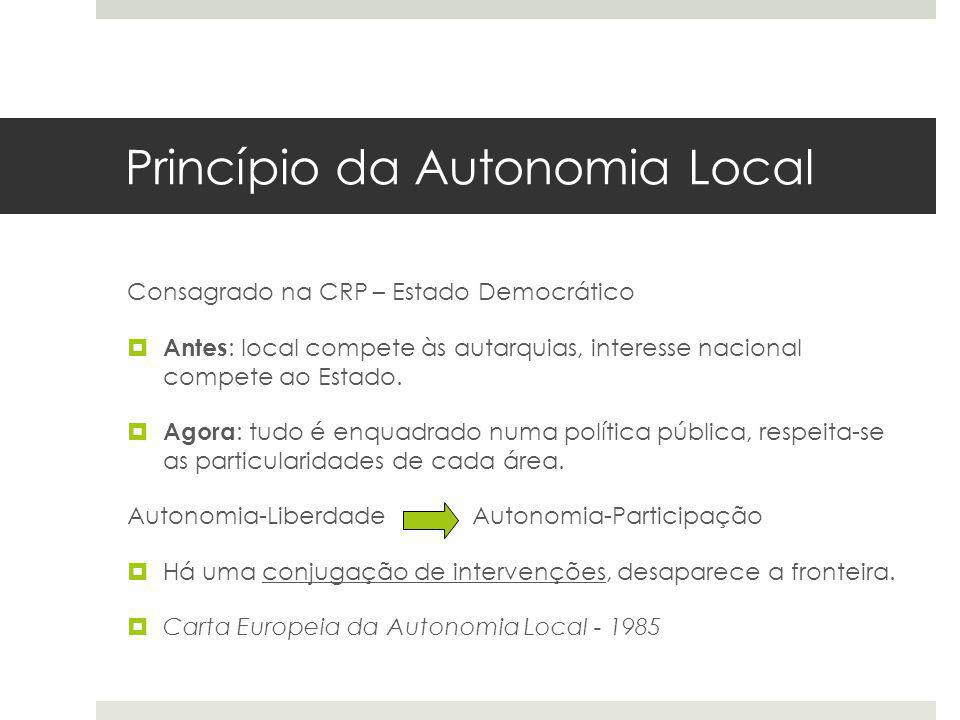 Princípio da Autonomia Local