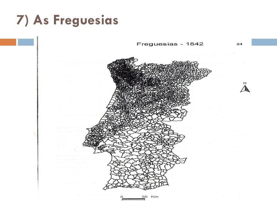 7) As Freguesias