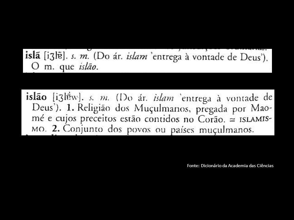 Definição do Islão em 3 vectores: