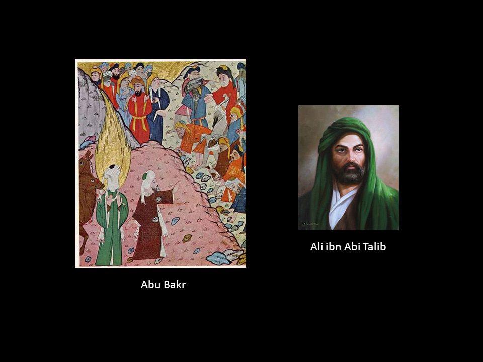 Ali ibn Abi Talib Abu Bakr Abu Bak: amigo e colaborador