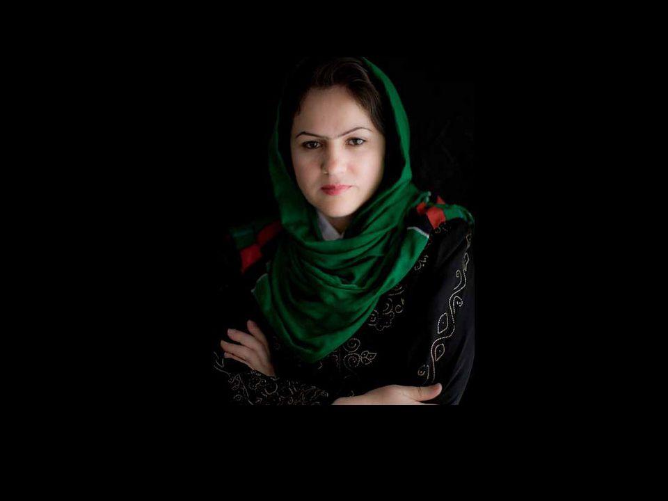 Fawzia Koofi candidata às eleições presidenciais no Afeganistão em 2014