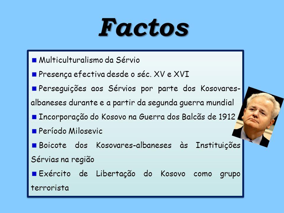 Factos Multiculturalismo da Sérvio