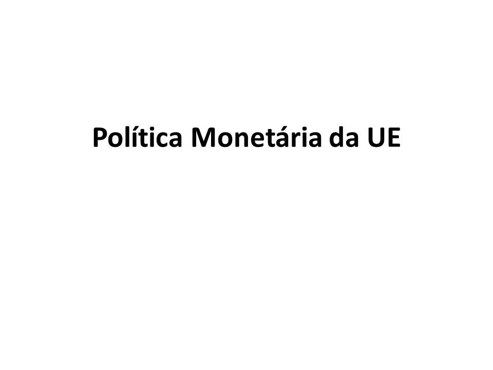 Política Monetária da UE