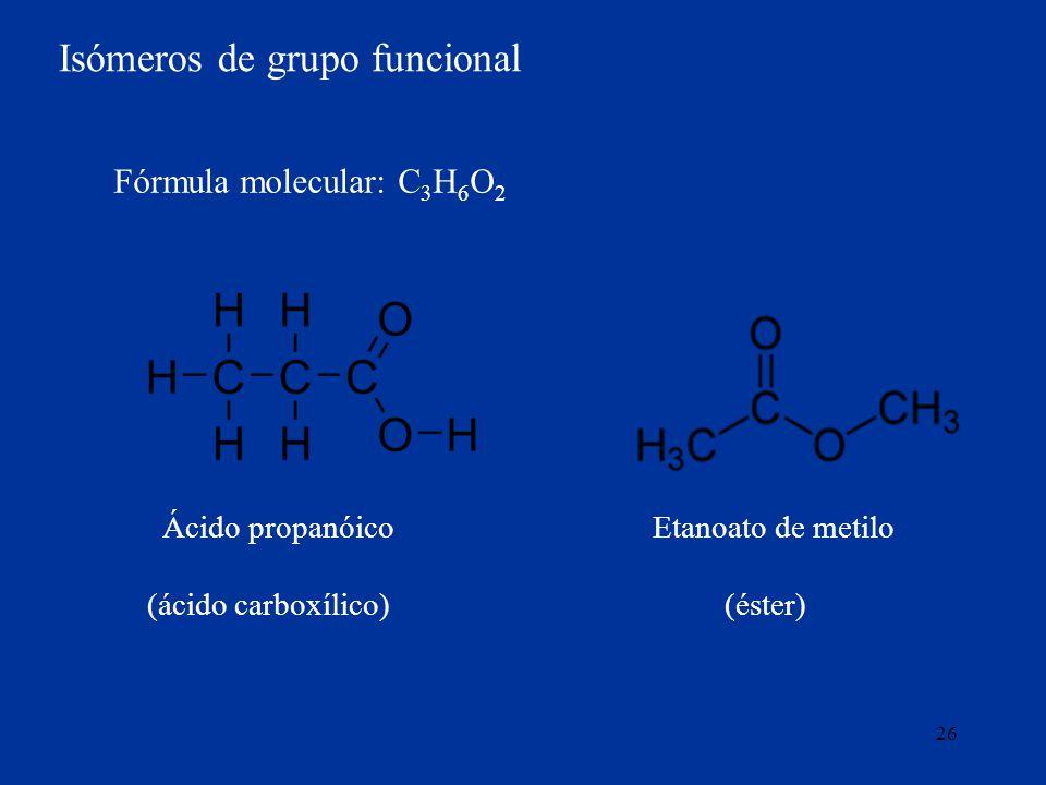 Isómeros de grupo funcional