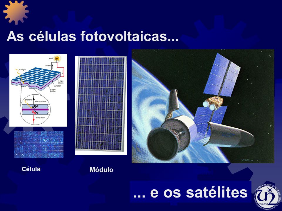 As células fotovoltaicas...