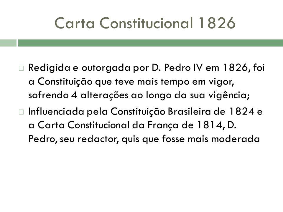 Carta Constitucional 1826