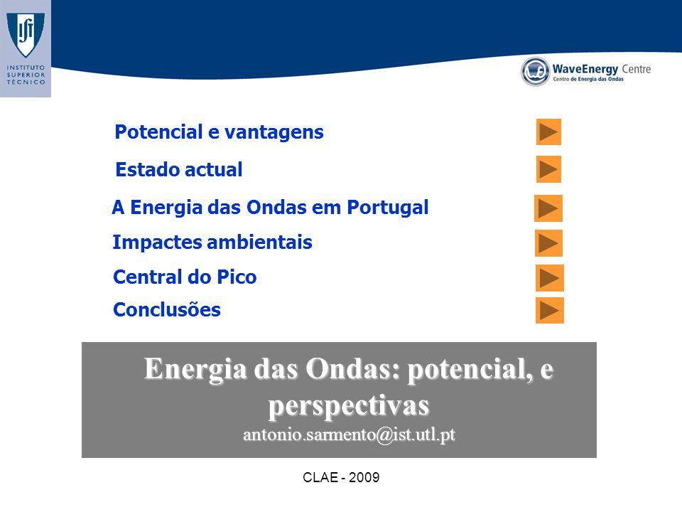 Energia das Ondas: potencial, e perspectivas