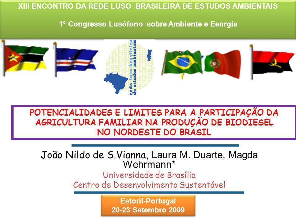 João Nildo de S.Vianna, Laura M. Duarte, Magda Wehrmann*