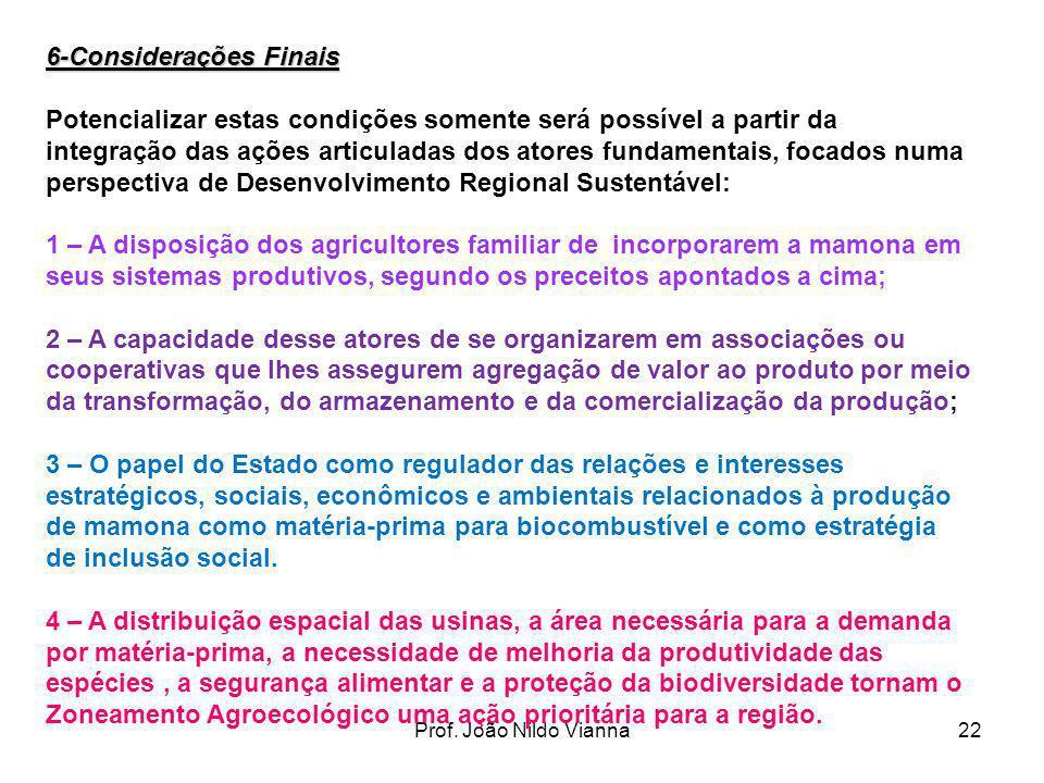 6-Considerações Finais