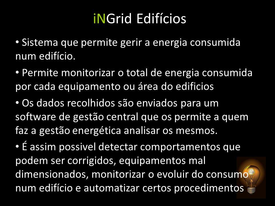 iNGrid Edifícios Sistema que permite gerir a energia consumida num edifício.